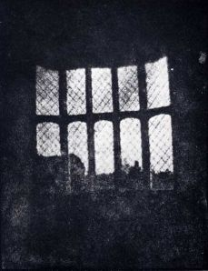 "Henry Fox Talbot, ""Latticed window in Lacock Abbey"", 1835"